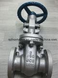 O aço de carbono Wcb flangeou válvula de porta da extremidade