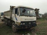6*4-LHD-Drive白ペンキEuro3によって使用される6~8cbm/15ton上海2003~2006ヒュンダイのダンプトラック