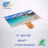 8インチ300 CD/M2 40pin LvdsインターフェイスTFT LCDモジュール