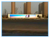 スクリーンを広告する屋外LEDのドットマトリックスの表示旗