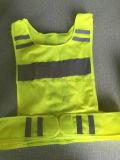 Gelbe reflektierende Sicherheits-Betrieb-Weste für Verkehrssicherheit-Schutz