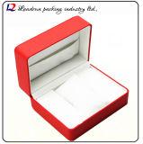 Cadre de mémoire en cuir de luxe d'étalage d'emballage de montre (Sy061)