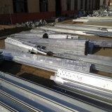 Componentes estructurales de acero galvanizados de la INMERSIÓN caliente