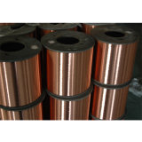 Fil en aluminium plaqué diplômée par UL d'en cuivre de fil de CCA