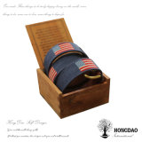 Hongdao regalo cinturón de embalaje caja de madera