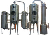 Milk/Water/Alcohol/Juice를 위한 두 배 Effect Vacuum Evaporator 또는 Concentrator/Distiller