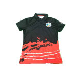 Het douane Afgedrukte Overhemd van het Polo van de T-shirt van het Polo van Mensen voor Mensen