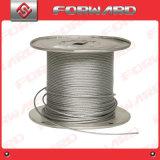 Веревочка стального провода для хлестать & подниматься