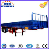 高品質3axles/12tyresの側面か塀または半サイドボードの実用的な貨物トレーラー