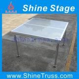 Estágio de vidro do Portable do estágio da dança do estágio de iluminação do estágio