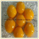 Pêssegos amarelos enlatados China Frozon