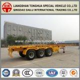 3 de Semi Aanhangwagen van de Container van het Skelet van Assen Fuwa 40FT voor de Markt van het Midden-Oosten