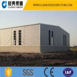 Oficina/armazém Prefab de aço da estrutura da luz da grande extensão