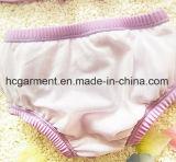 Le bikini du lacet de la fille, lacent le beau procès de natation pour des gosses