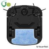 Robot carré d'aspirateur de lavette anti-collision, anti automne, ménage de filtre de HEPA nettoyant le nettoyeur de nettoyage sec de la poussière de Microfiber pour l'appareil ménager