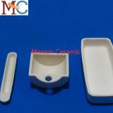 Шлюпка глинозема керамические/глинозем керамический поднос Saggar/глинозема керамический