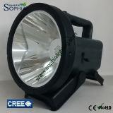 Potente proyector recargable de 30W LED con 1500m de largo alcance