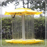 Lampada solare dell'assassino dell'insetto di controllo chiaro di controllo intelligente della pioggia