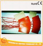 Ультразвуковая чистка подвергает подогреватель механической обработке 220V 250W 180*100* 1.5mm силикона подогревателя