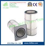 Cartuccia di filtro dell'aria del poliestere per il collettore di polveri