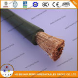 Cable de cobre flexible de la soldadura del conductor