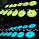 Indicatore luminoso interattivo dinamico rotondo di Dance Floor della fase del LED