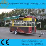 Bovenkant die de Elektrische Mobiele Vrachtwagen van het Voedsel voor Verkoop verkopen
