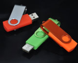 USB Flash Drive de BSCI Verified Factory Wholesale Cheap Swivel para Promotional Gift