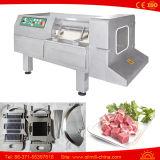 Автоматическая, котор замерли машина резца вырезывания кубика мяса цыпленка говядины Dicing