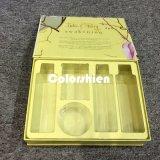 Rectángulo de regalo cosmético de la visualización del embalaje del perfume de Attactive