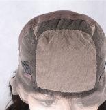 Melhor Longo Cheio Lace perucas de cabelo humano com Bangs Virgem brasileiro corpo onda Glueless cabelo humano Lace Front peruca