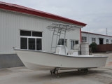 Constructeurs de canot d'embarcation de plaisance de fibre de verre du bateau de pêche de Liya 19ft