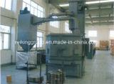 Tipo avanzado máquina de Turnable del chorreo con granalla