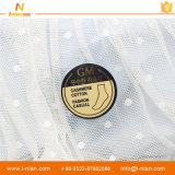 Calcetines movibles que empaquetan la escritura de la etiqueta auta-adhesivo