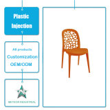 Tableau dinant de moulage personnalisé et présidence de meubles en plastique de produits injection en plastique
