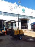 Torre de iluminación telescópica de elevación neumática del alto mástil de la fuente de la fábrica (FZMT-400B)