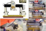 De volledig Automatische Scherpe Machine van de Steen om Leuning/Kolom/Leuning Te profileren