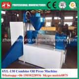 cacahuete automático de la cosechadora 6yl-130A, gérmenes de Tung, máquina de la prensa de petróleo del Jatropha con el filtro de petróleo