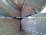 CNC 단면도 관과 단면도 철강 생산 선
