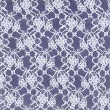 Tessuto di lavoro a maglia del merletto del filo di ordito elastico per il vestito da cerimonia nuziale della biancheria intima