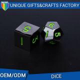 Dadi di vendita caldi personalizzati dei dadi D4 del metallo del gioco di stile