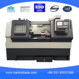 Torno inclinado de processamento elevado do CNC da base da venda Ck-32L da fábrica