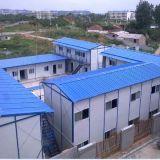China-vorfabriziertes Haus des Fußboden-G+1 für Arbeitslager