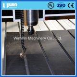 Малый CNC Ww6090 высекая деревянный гравировальный станок с роторной осью