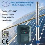 6sp46-10submersible遠心太陽水ポンプ