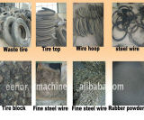 Pneu de fournisseur de la Chine réutilisant disposant le granule en caoutchouc d'équipement faisant la machine