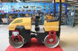 工場供給の新しい1トンの倍のドラム小さい道ローラー
