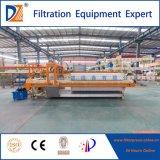 Prensa de filtro del equipo del tratamiento del lodo de las aguas residuales de Dazhang