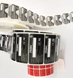 Pirnted 서류상 접착성 스티커 PVC 자동 접착 레이블 (Z034)