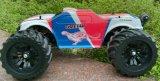 Jeep con errori fuori strada a pile violenta della scala 4WD dell'automobile 1/10 di RC